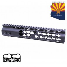 "10"" AIR LITE KEYMOD FREE FLOATING HANDGUARD WITH MONOLITHIC TOP RAIL"