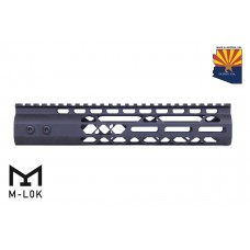10″ Air Lite M-LOK Free Floating Handguard With Monolithic Top Rail (Anodized Black)