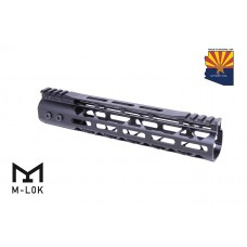 10″ Mod Lite Skeletonized Series M-LOK Free Floating Handguard With Monolithic Top Rail