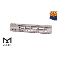 "10"" MOD LITE SKELETONIZED SERIES M-LOK FREE FLOATING HANDGUARD WITH MONOLITHIC TOP RAIL (FLAT DARK EARTH)"