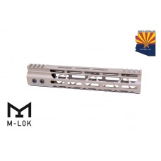 10″ Mod Lite Skeletonized Series M-LOK Free Floating Handguard With Monolithic Top Rail (Flat Dark Earth)