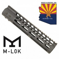 "10"" ULTRA LIGHTWEIGHT THIN M-LOK SYSTEM FREE FLOATING HANDGUARD WITH MONOLITHIC TOP RAIL"