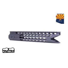 "11.5"" ULTRA SLIMLINE OCTAGONAL 5 SIDED KEY MOD FREE FLOATING HANDGUARD WITH ""SHARK MOUTH"" CUT"