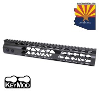 "12"" AIR LITE KEYMOD FREE FLOATING HANDGUARD WITH MONOLITHIC TOP RAIL (O.D. GREEN)"
