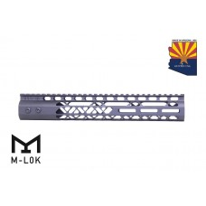 "12"" AIR LITE M-LOK FREE FLOATING HANDGUARD WITH MONOLITHIC TOP RAIL"