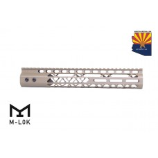 "12"" AIR LITE M-LOK FREE FLOATING HANDGUARD WITH MONOLITHIC TOP RAIL (FLAT DARK EARTH)"