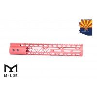 "12"" AIR LITE M-LOK FREE FLOATING HANDGUARD WITH MONOLITHIC TOP RAIL (RED)"