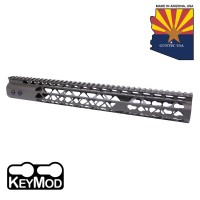 "15"" AIR LITE KEYMOD FREE FLOATING HANDGUARD WITH MONOLITHIC TOP RAIL (O.D. GREEN)"