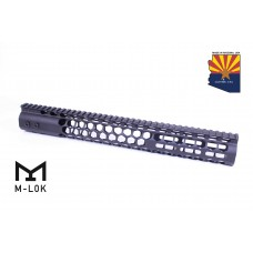 "15"" AIR LITE SERIES ""HONEYCOMB"" M-LOK FREE FLOATING HANDGUARD WITH MONOLITHIC TOP RAIL"