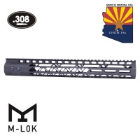 "15"" AIR LITE SERIES M-LOK FREE FLOATING HANDGUARD WITH MONOLITHIC TOP RAIL (.308 CAL)"