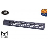 "15"" MOD LITE SKELETONIZED SERIES M-LOK FREE FLOATING HANDGUARD WITH MONOLITHIC TOP RAIL (.308 CAL)"