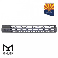"15"" MOD LITE SKELETONIZED SERIES M-LOK FREE FLOATING HANDGUARD WITH MONOLITHIC TOP RAIL (OD GREEN)"