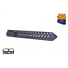 "15"" ""TRIDENT"" SERIES ULTRA LIGHTWEIGHT THIN KEY MOD FREE FLOATING HANDGUARD"