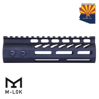 "6.75"" ULTRA LIGHTWEIGHT THIN M-LOK FREE FLOATING HANDGUARD WITH MONOLITHIC TOP RAIL"