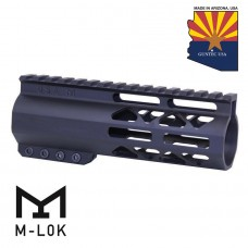 "6"" AIR-LOK SERIES M-LOK COMPRESSION FREE FLOATING HANDGUARD WITH MONOLITHIC TOP RAIL"