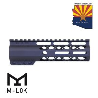 "7"" AIR-LOK SERIES M-LOK COMPRESSION FREE FLOATING HANDGUARD WITH MONOLITHIC TOP RAIL"