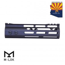 7″ Mod Lite Skeletonized Series M-LOK Free Floating Handguard With Monolithic Top Rail (Anodized Black)