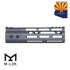 7″ Mod Lite Skeletonized Series M-LOK Free Floating Handguard With Monolithic Top Rail (OD Green)