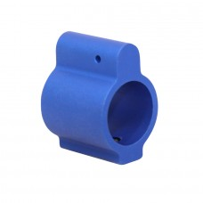 AR15 ALUMINUM LOW PROFILE .750 GAS BLOCK (BLUE)