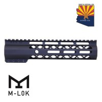 "9"" AIR-LOK SERIES M-LOK COMPRESSION FREE FLOATING HANDGUARD WITH MONOLITHIC TOP RAIL"