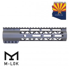 "9"" AIR-LOK SERIES M-LOK COMPRESSION FREE FLOATING HANDGUARD WITH MONOLITHIC TOP RAIL (OD GREEN)"