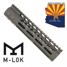 "9"" ULTRA LIGHTWEIGHT THIN M-LOK SYSTEM FREE FLOATING HANDGUARD WITH MONOLITHIC TOP RAIL"