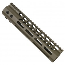 "9"" ULTRA LIGHTWEIGHT THIN M-LOK SYSTEM FREE FLOATING HANDGUARD WITH MONOLITHIC TOP RAIL (OD GREEN)"