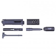 "AR-15 9MM CAL COMPLETE UPPER KIT (4"" ULTRALIGHT M-LOK HANDGUARD)"