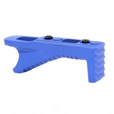 ANGLED ALUMINUM GRIP FOR KEYMOD SYSTEM (BLUE)