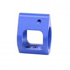 AR15 AIRLITE SERIES SKELETONIZED STEEL LOW PROFILE GAS BLOCK (US MADE) (CERAKOTE BLUE)