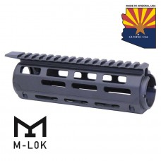 AR-15 7″ Aluminum Carbine Length Drop In M-LOK Free Floating Handguard With Monolithic Top Rail