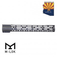 15″ AIR-LOK Series M-LOK Compression Free Floating Handguard With Monolithic Top Rail (Gen 2) (OD Green)