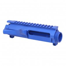 AR15 STRIPPED BILLET UPPER RECEIVER (ANODIZED BLUE)