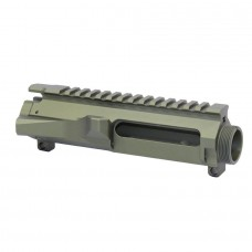 AR15 STRIPPED BILLET UPPER RECEIVER (ANODIZED GREEN)