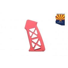 AIRLITE SERIES GEN 2 SKELETONIZED ALUMINUM PISTOL GRIP (RED)