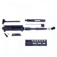 AR-15 5.56 CAL COMPLETE UPPER KIT (PISTOL LENGTH) (ULTRALIGHT M-LOK HG)