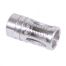 AR-15 A2 RIBBED STAINLESS STEEL BIRDCAGE FLASH HIDER