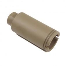 AR-10 .308 CAL CONE FLASH CAN (FLAT DARK EARTH)
