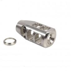 AR .308 Cal Stainless Steel Multi Port Compensator (Gen 2)
