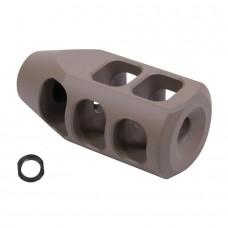 AR .308 Cal Multi Port Steel Compensator (Gen 2) (Flat Dark Earth)
