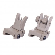 AR-15 GEN 2 THIN PROFILE BACK UP IRON SIGHT SET (FLAT DARK EARTH)