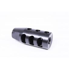 AR .308 Cal Multi Port Steel Compensator