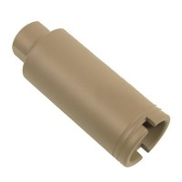 AR-10 .308 CAL SLIM LINE CONE FLASH CAN (FLAT DARK EARTH)