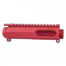 AR-15 9mm Dedicated Stripped Billet Upper Receiver (Anodized Red)