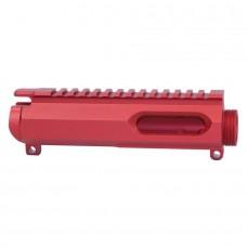 AR15 9MM DEDICATED STRIPPED BILLET UPPER RECEIVER (RED)