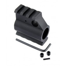 AR15 ALUMINUM RAIL HEIGHT GAS BLOCK
