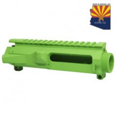 AR15 STRIPPED BILLET UPPER RECEIVER (ZOMBIE GREEN)