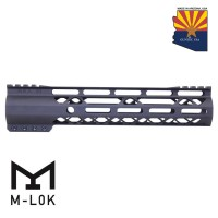 "GEN 2 10"" AIR-LOK SERIES M-LOK COMPRESSION FREE FLOATING HANDGUARD WITH MONOLITHIC TOP RAIL"