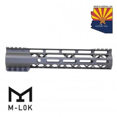 "GEN 2 10"" AIR-LOK SERIES M-LOK COMPRESSION FREE FLOATING HANDGUARD WITH MONOLITHIC TOP RAIL (OD GREEN)"