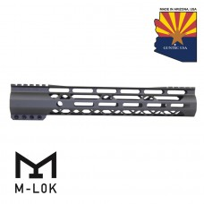 "GEN 2 12"" AIR-LOK SERIES M-LOK COMPRESSION FREE FLOATING HANDGUARD WITH MONOLITHIC TOP RAIL (OD GREEN)"